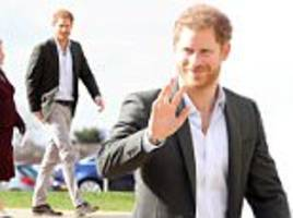 Prince Harry visits people living with HIV in Leicester