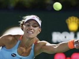 Kerber reclaims top spot in rankings from Serena Williams