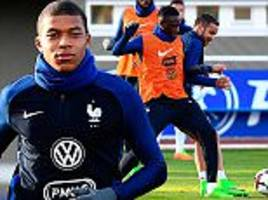 Kylian Mbappe is a match for Arsenal's Olivier Giroud