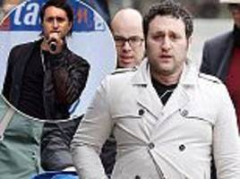 Antony Costa is unrecognisable sporting much fuller frame
