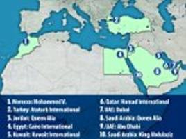 No electronics on some US-bound jets from Mideast, Africa