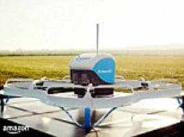 Watch Amazon delivery drone make its debut drop in the US