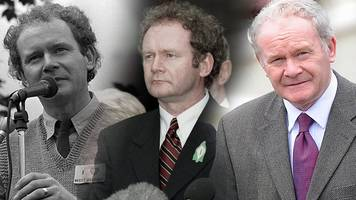 A look back at the life of Martin McGuinness