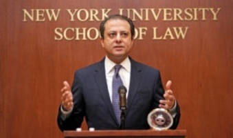 Preet Bharara Joins NYU School Of Law