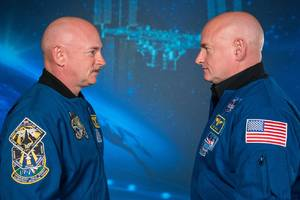 Astronauts Scott and Mark Kelly on NASA's twin experiment and the future of space travel