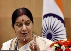 Sushma asks Indian envoy to initiate action to release 29 Telangana migrant