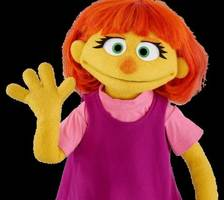 'sesame street' adds new muppet: her name is julia, and she's a child with autism