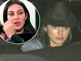 Kendall Jenner shows off her glowing complexion