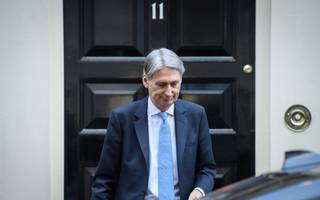 Government borrowing lower than expected, giving Hammond much-needed boost