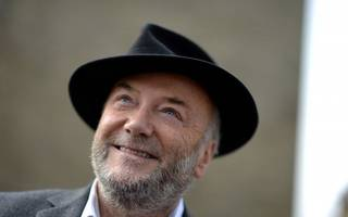 guess who's attempting a comeback? galloway targets manchester by-election