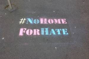 why chalk stencils are appearing in hartcliffe and knowle west