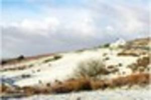 Dartmoor covered in snow as cold weather hits Devon