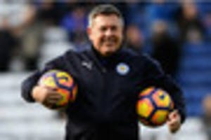 leicester city boss craig shakespeare has got serious balls. two...