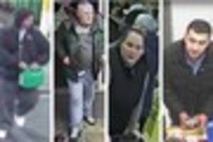 Do these faces ring a bell? CCTV released after crimes at HMV,...