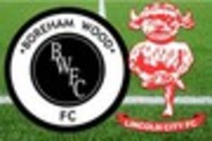Boreham Wood v Lincoln City LIVE - Imps face key night in title...