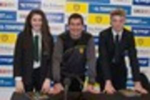 watch: burton albion play host to budding journalists as part of...