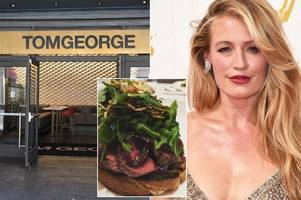 inside the 'disgusting' la restaurant cat deeley slammed: a $38 steak, nutella pizzas and eye-watering cocktails
