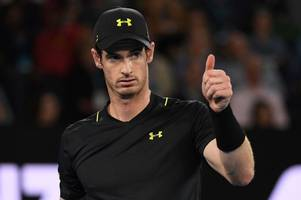 roger federer warns andy murray he's out to get his world no1 spot back