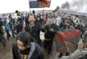 north dakota highway near pipeline protest site to re-open