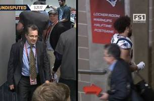 Watch as Tom Brady's Super Bowl jersey is stolen from the Patriots locker room