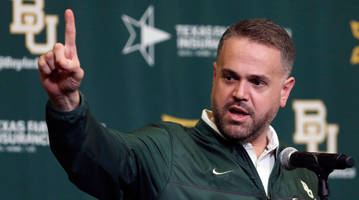 Baylor head coach Matt Rhule