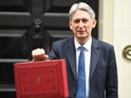 hammond rules out pensions raid to fill budget black hole