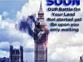 sick isis celebrating 'blessed london attack'