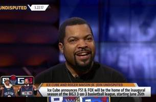 ice cube announces big3 3-on-3 basketball league is heading to fs1/fox | undisputed