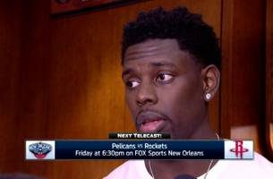 jrue holiday on sticking with the game plan in win