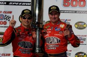 Top NASCAR Cup Series race winners in history of Auto Club Speedway