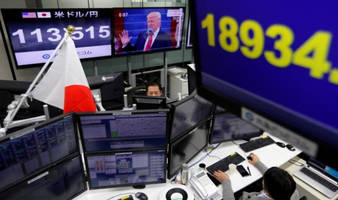 global stocks tumble; gold, safe havens jump on doubts trump can pass tax reform