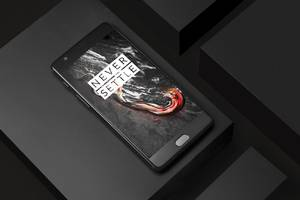 You don't have to go to France to get this black OnePlus 3T