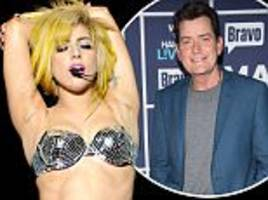 Charlie Sheen reveals Lady Gaga offered a NAKED lap dance