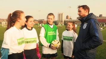 Gareth Southgate: England manager backs Football Foundation participation schemes