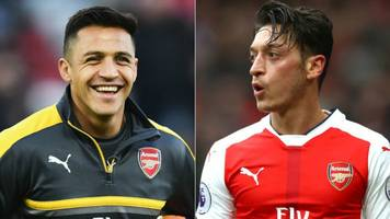 Sanchez & Ozil contract talks 'on hold' - Wenger