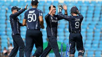 Scotland to face Zimbabwe in two one-day internationals in June