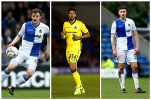 Bristol Rovers could be without three players for Saturday's trip to Coventry City