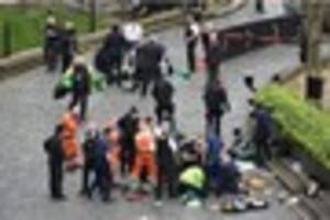 Four dead including terror suspect and police officer after...