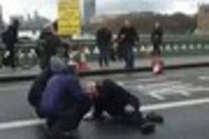 shocking eyewitness video shows five people 'mown down' on...