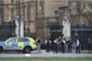 westminster attack being treated as 'an act of terror' say police