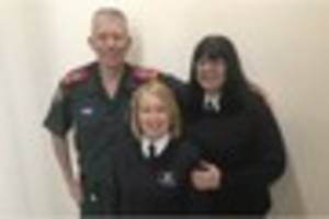 Traffic wardens saved man's life after he collapsed in car park