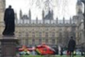 Westminster on lockdown with casualities after reported shootings...