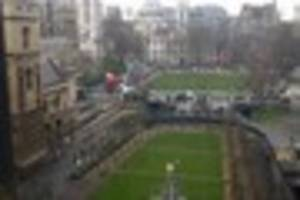 BREAKING: Gunshots heard outside the House of Commons