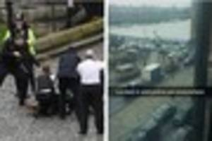 Parliament attack: Snapchat photos reveal scene from lock-down in...