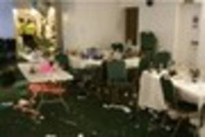 brentwood golf club trashed following disagreement with...