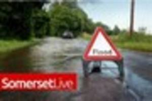 Flood warnings in place across South West including Somerset due...