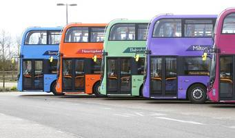 electric buses are not an option for tackling cambridge's air pollution problem, say stagecoach