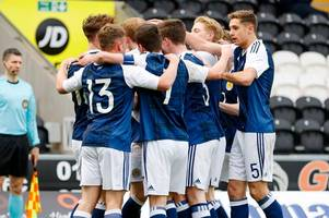 scotland u17s 1 switzerland 0 as scot gemmill's youngsters qualify for euro championship finals