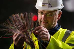 telecoms giant set to bring jobs boost to stirling