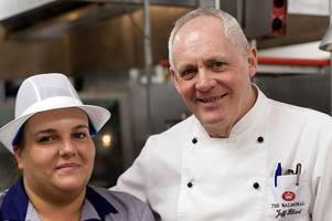 west lothian dinner ladies get to spend day working in kitchen at michelin starred balmoral hotel in edinburgh